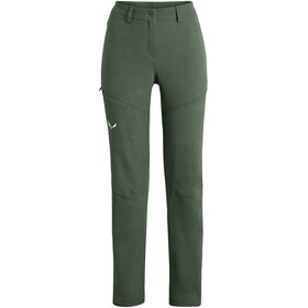 SALEWA Puez Dolomitic Durastretch Broek Dames, duck green